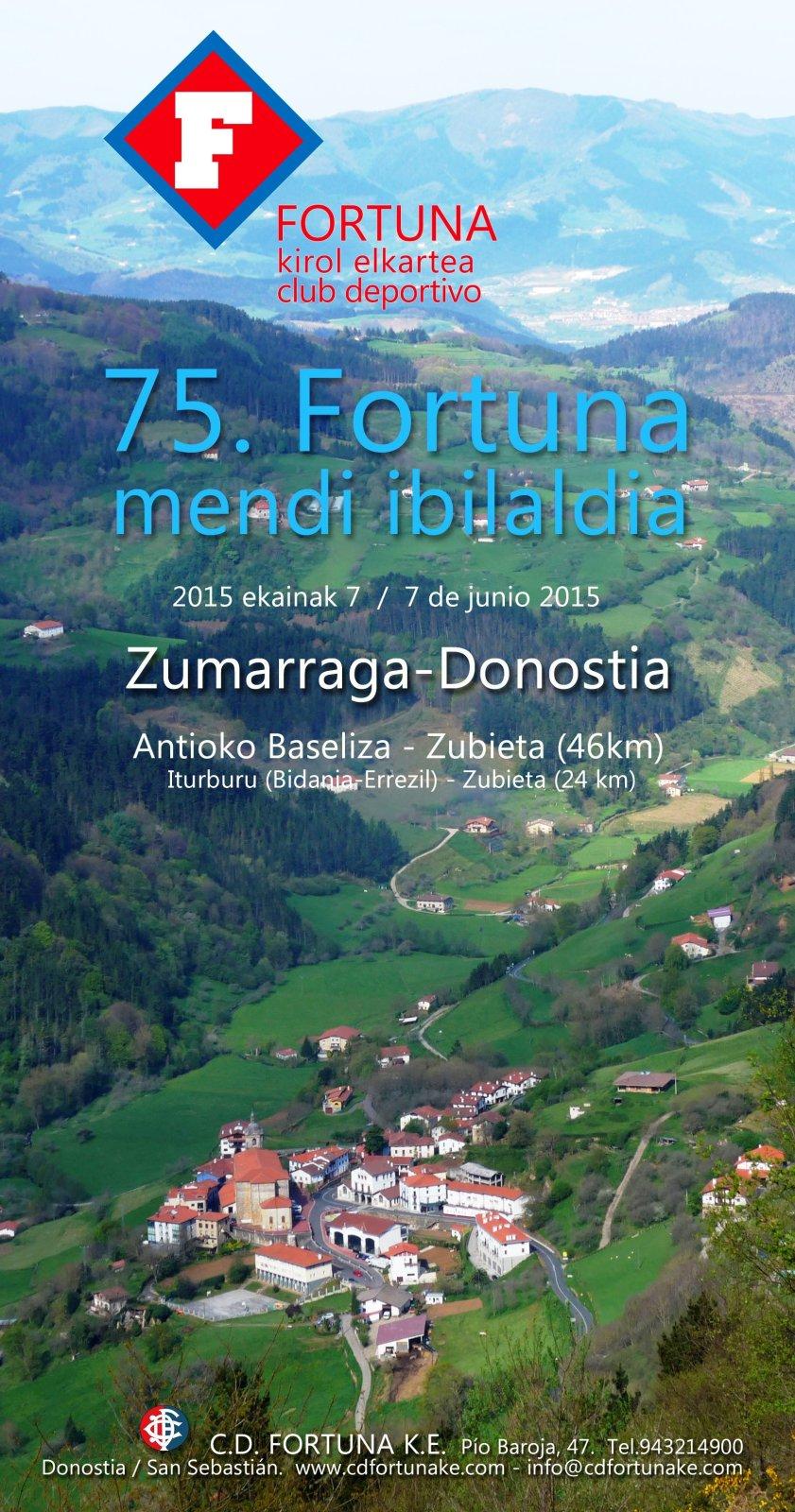 75 Fortuna mendi ibilaldidia