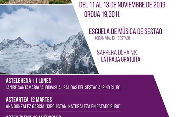 Cartel Semana de Cine de Montaña Sestao Alpino Club