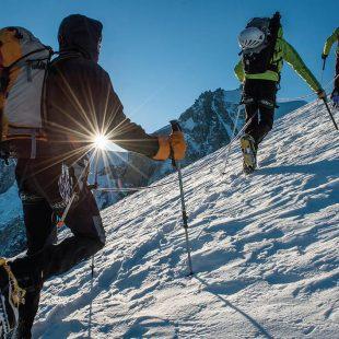 Grupo de alpinistas