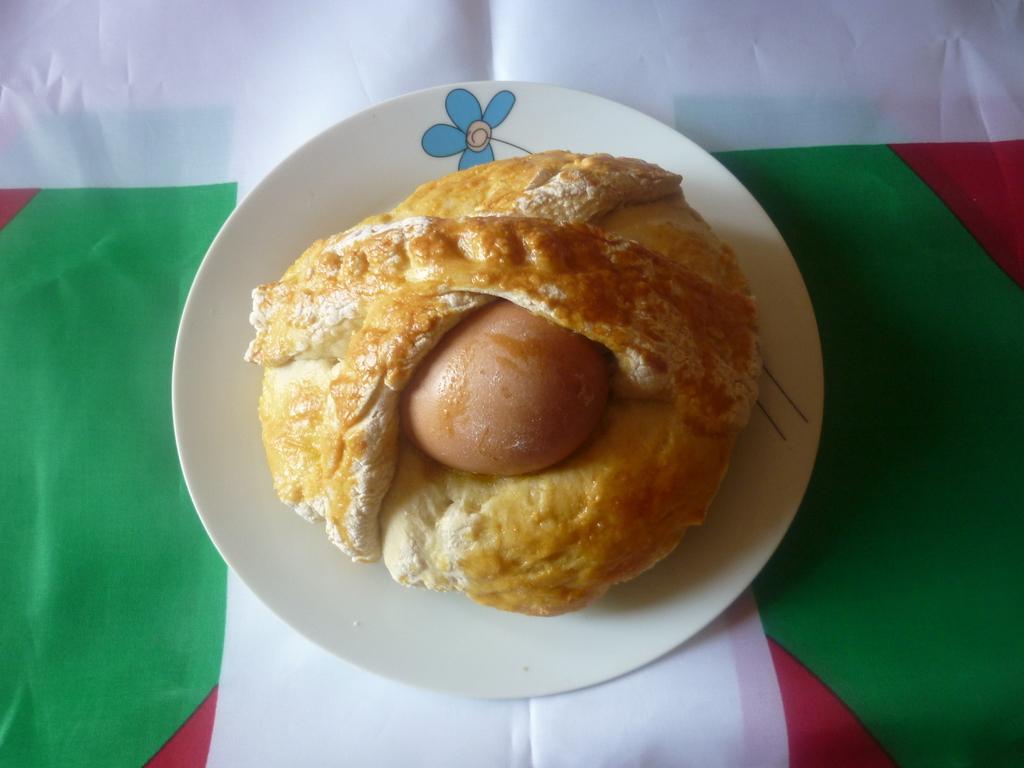 Kornite pan preñado con huevo